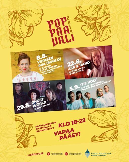 PopPaavali 2019 -kesklubi