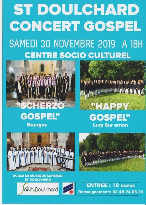 Concert Gospel at Scherzo Bourges
