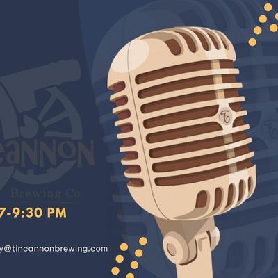 Open Mic Night at Tin Cannon Brewing Co.