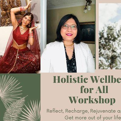 Holistic Wellbeing Dance Mindful Yoga Workshop