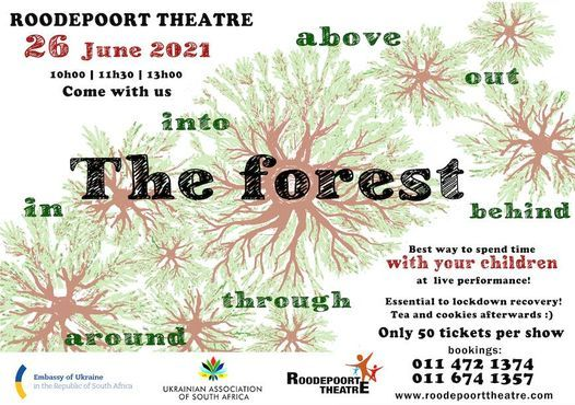 The Forest - Interactive contemporary dance performance for children, 30 July   Event in Roodepoort   AllEvents.in