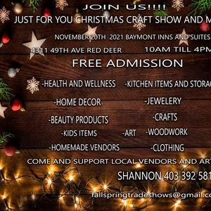 Just For You Christmas Craft Show and Market