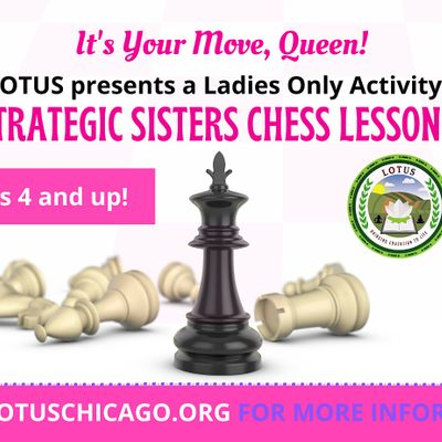 Girls Online Chess Course - 8 wks (Its Your Move Queen)