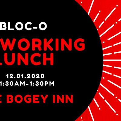 BLOC-O Networking Lunch   the Bogey Inn - Dublin