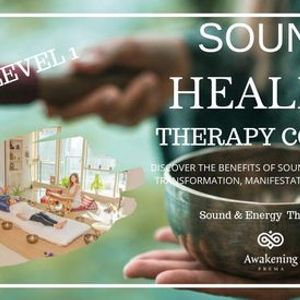 Sound Healing Therapy Course level 1