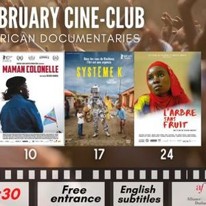 February Cine-Club African documentaries