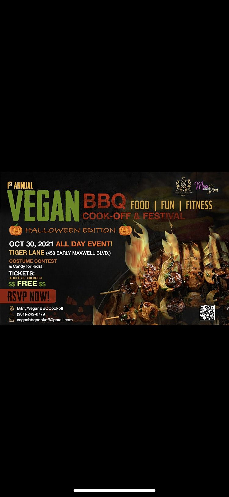 Vegan BBQ Cook-off & Festival, 30 October   Event in Memphis   AllEvents.in