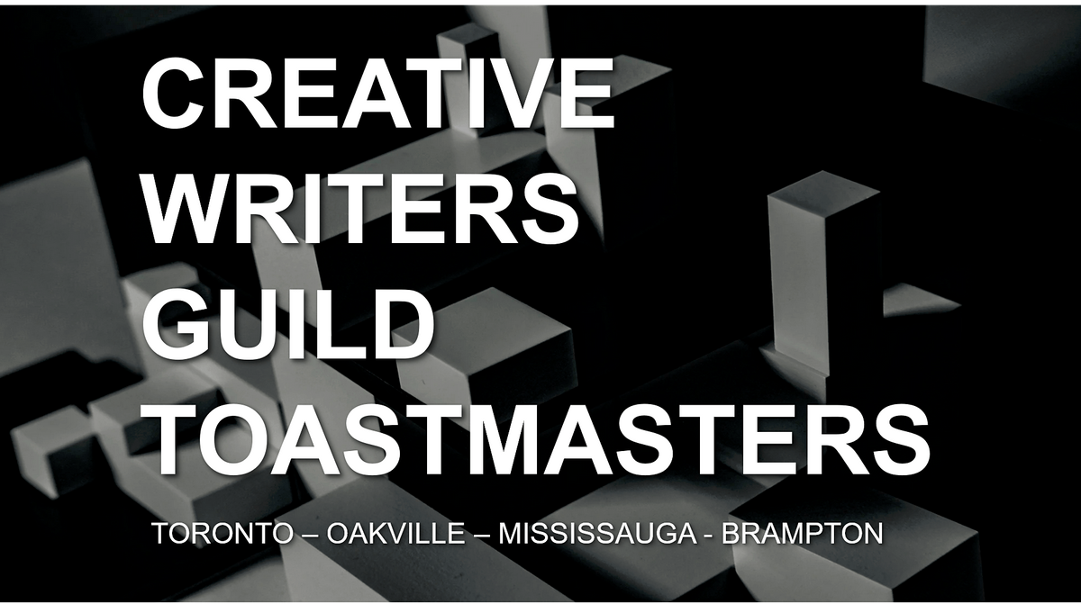 Creative Writers Guild TM Charter Club  [Canada]   Event in Toronto   AllEvents.in