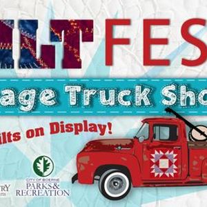 QuiltFest Vintage Trucks & Antique Tractor Pull