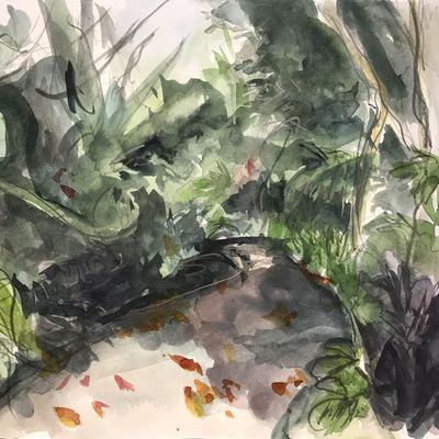 Landscape Painting in the Gardens