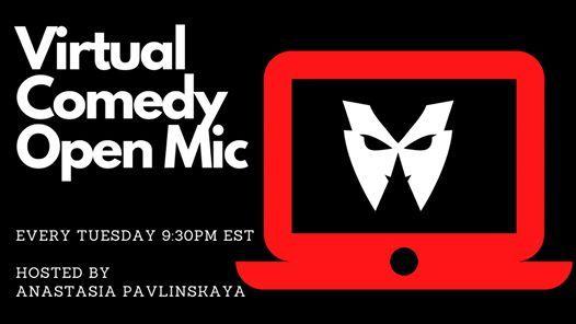 Virtual Comedy Open Mic