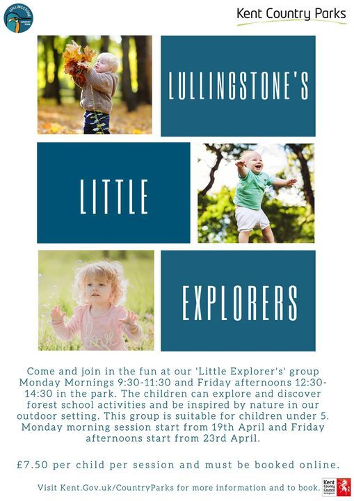 Lullingstone's Little Explorers - Toddler Group | Event in Eynsford | AllEvents.in