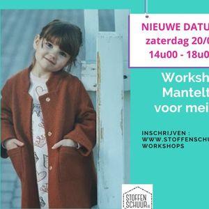 Workshop mantel voor meisjes