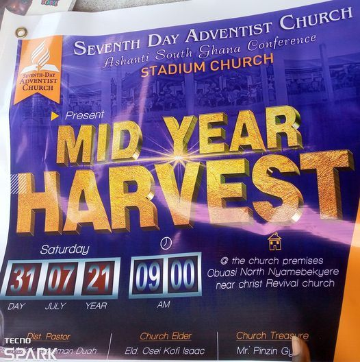 MID YEAR HARVEST, 31 July | Event in Accra | AllEvents.in