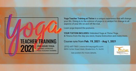200hr Yoga Teacher Training 2021, 19 February | Event in Bradenton | AllEvents.in