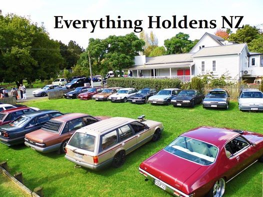 Everything Holdens NZ Gen 2 Commodore meet and cruise