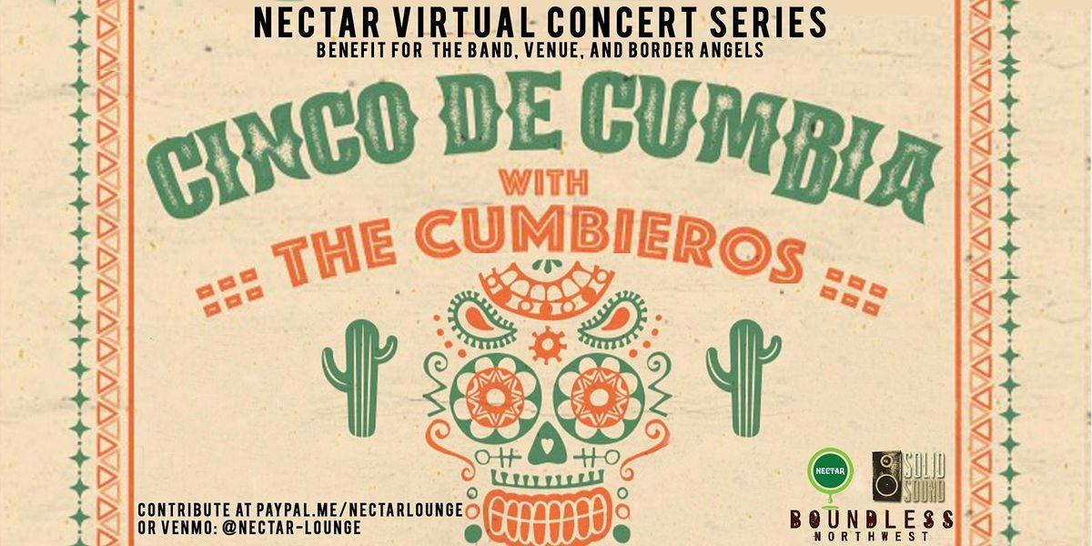 NVCS  presents CINCO DE MAYO LIVESTREAM feat THE CUMBIEROS | Online Event | AllEvents.in