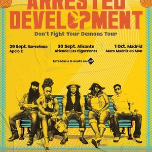 Arrested Development en Barcelona