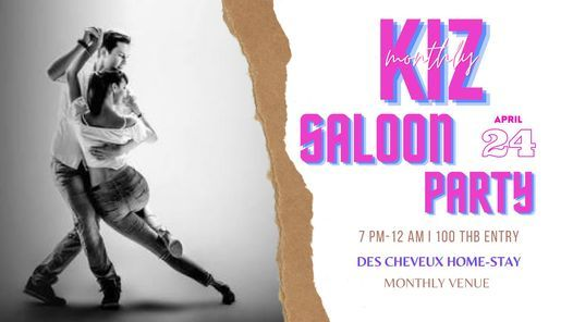 Kiz Saloon Party, 29 May | Event in Phitsanulok | AllEvents.in