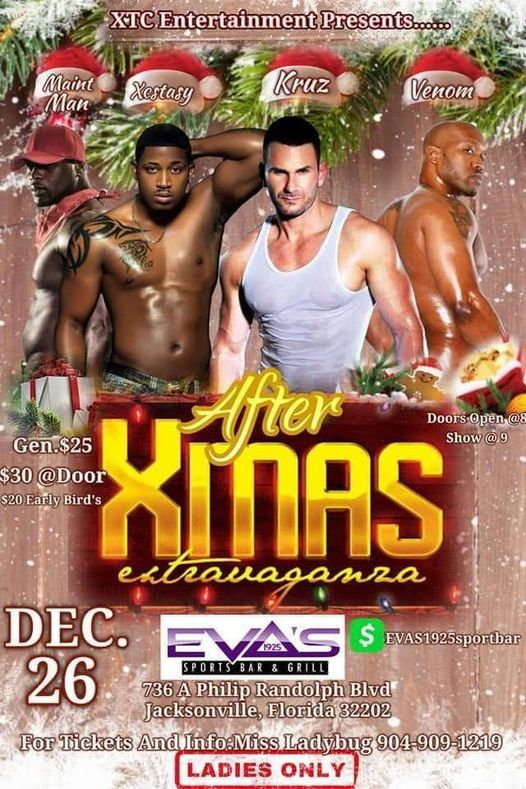 AFTER CHRISTMAS PACKAGE, Eva's Sports Bar & Grill, Jacksonville
