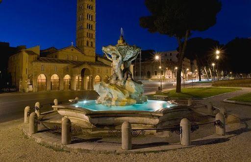 Roma di Notte Il Fascino della Roma Repubblicana illuminata