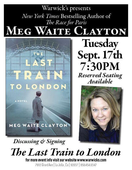 Meg Waite Clayton - The Last Train to London