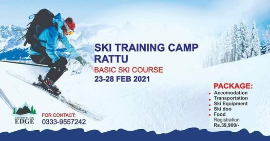 Basic Skiing Training & Adventure Camp at Rattu | Online Event | AllEvents.in