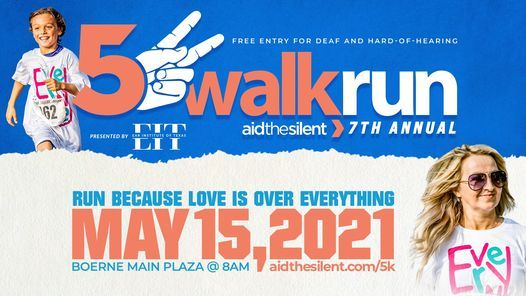 Aid The Silent 7th Annual 5k Walk/Run, 15 May | Event in Boerne | AllEvents.in