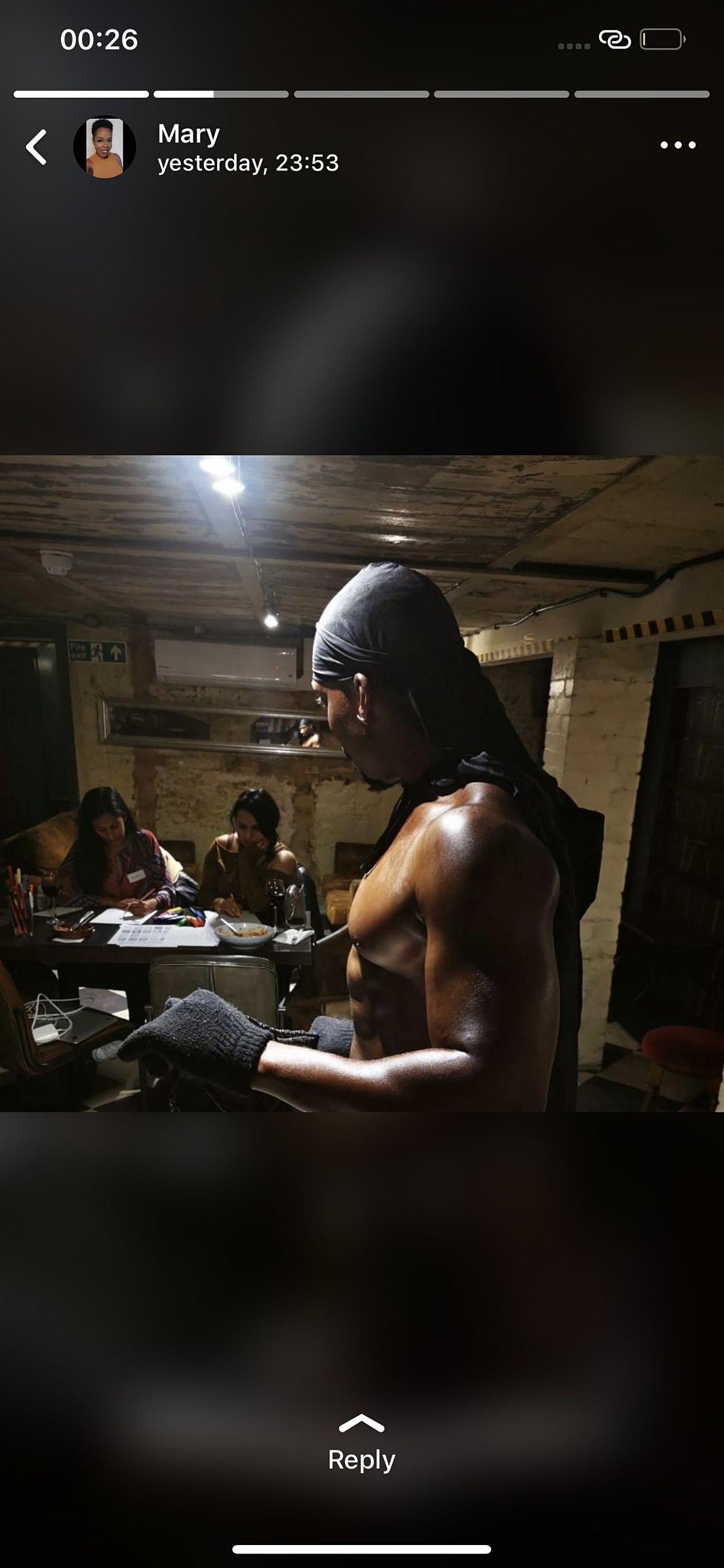 Hung Black Amateur Ebony