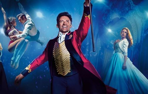 Outdoor cinema showing of The Greatest Showman