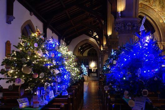 St Lukes Christmas Tree Festival