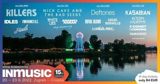 INmusic festival #15, 20 June   Event in Zagreb   AllEvents.in