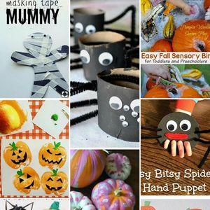 October Toddler Art