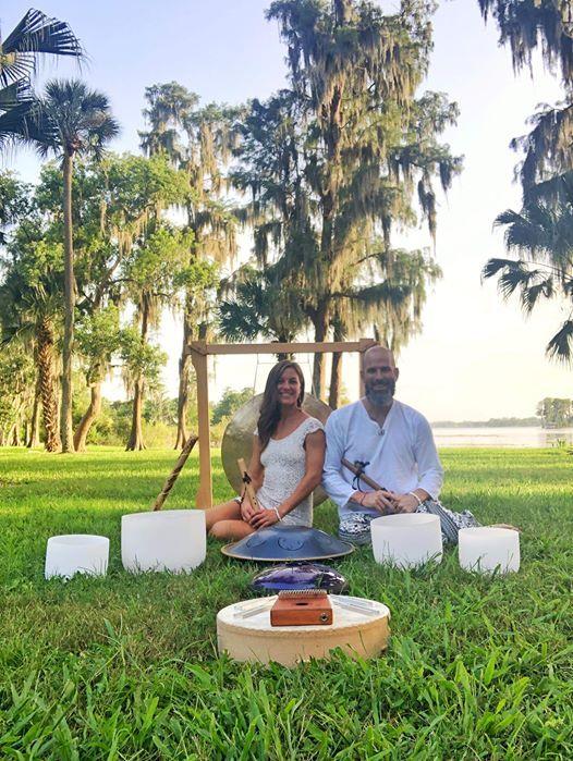 CBD Gong Bath & Sound Therapy at Peaceful Peacock Orlando