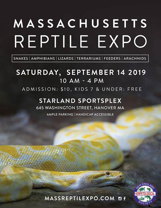 Fall Massachusetts Reptile Expo | Brockton