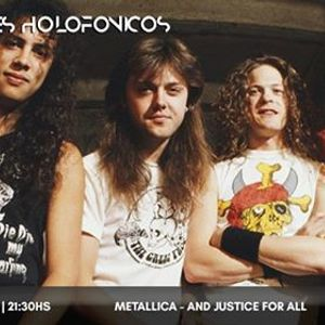 Metallica - And Justice For All en Parlantes Holofnicos