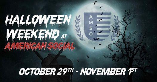 Halloween Ft Lauderdale 2020 Halloween Weekend 2020, American Social Las Olas, Fort Lauderdale