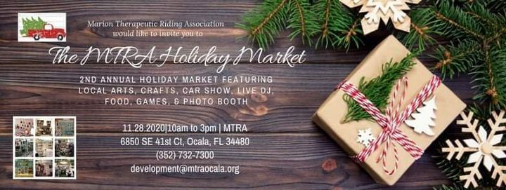 2nd Annual MTRA Holiday Market, 28 November | Event in Ocala | AllEvents.in