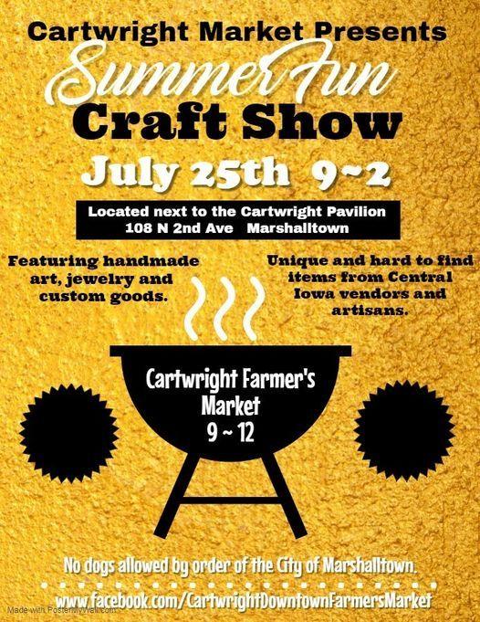 Summer Fun Craft Fair | Event in Marshalltown | AllEvents.in