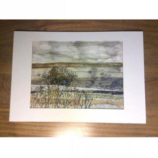 Eco Printed Landscape