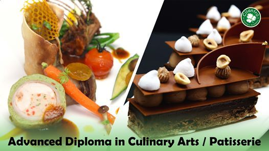 Advanced Diploma in Culinary Arts  Patisserie August Intake