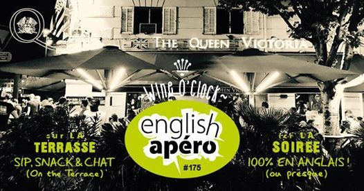 English Apro On The Terrace at The Queen Vic