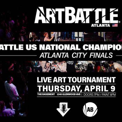 Art Battle Atlanta City Finals - April 9 2020
