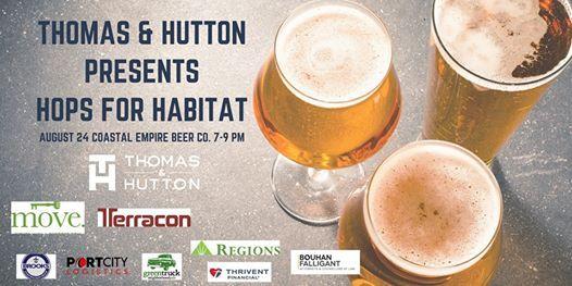 Hops for Habitat at Coastal Empire Beer Co , Savannah