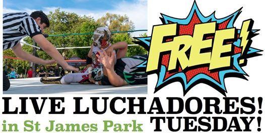 Free Luchadores / Pro Wrestling Revolution - Viva Parks