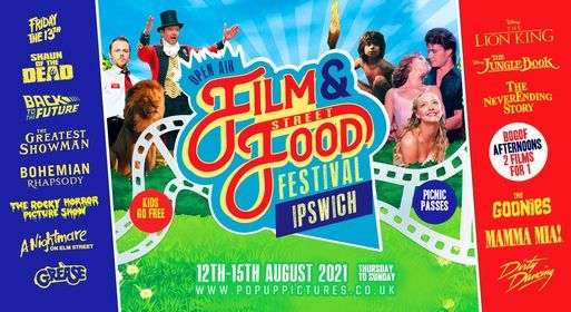 Ipswich Christchurch Park - Open Air Film & Street Food Fest 2021, 12 August | Event in Ipswich | AllEvents.in