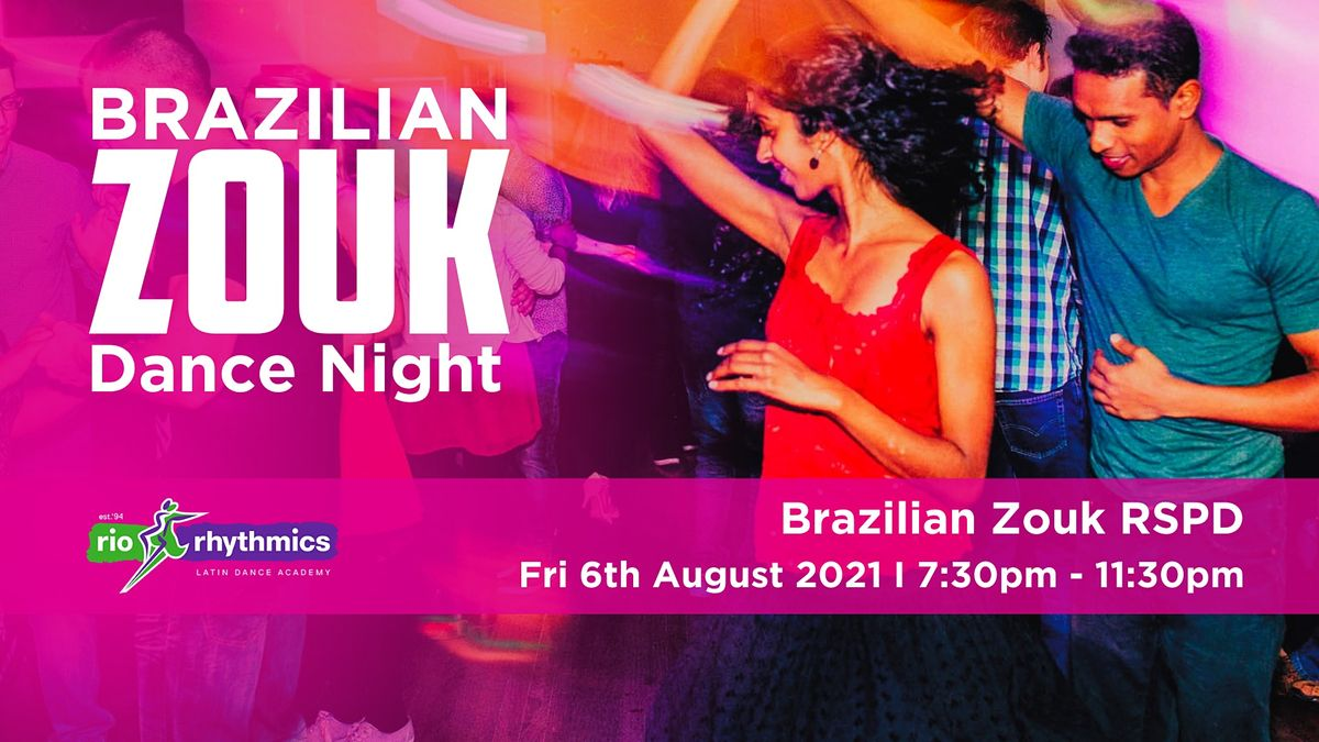 Brazilian Zouk RSPD Dance Night, 6 August   Event in West End   AllEvents.in