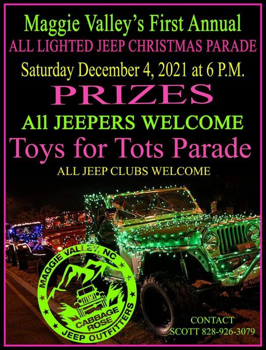 Maggie Valley, NC,  ALL JEEP CHRISTMAS NIGHT PARADE, 4 December | Event in Maggie Valley | AllEvents.in