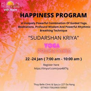 HAPPINESS PROGRAM IN DANANG