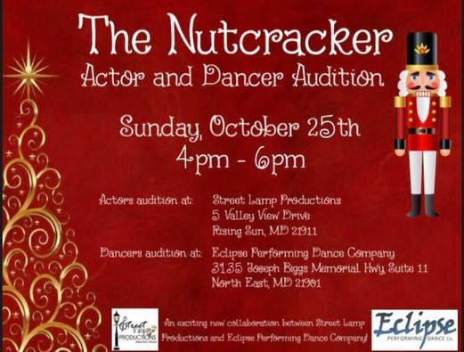 Eclipse Auditions ACT II of The Nutcracker | Event in North East | AllEvents.in